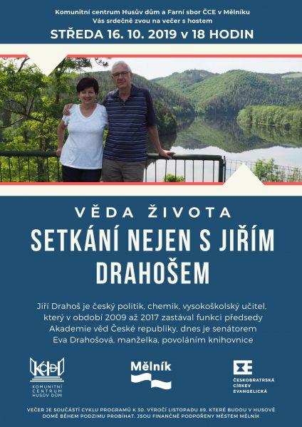 setkání nejen s Jiřím Drahošem