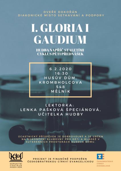 I. Gloria i gaudium